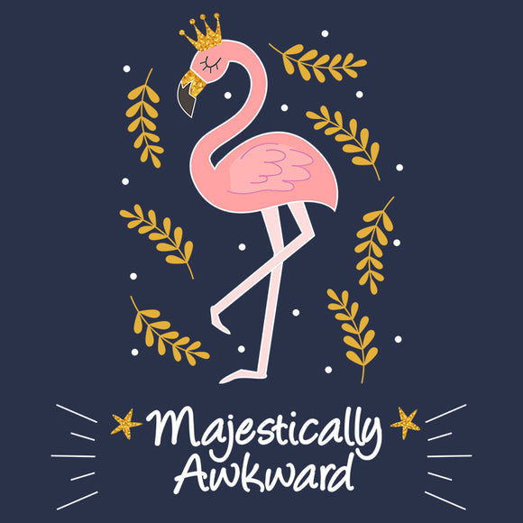 Majestically Awkward Flamingo