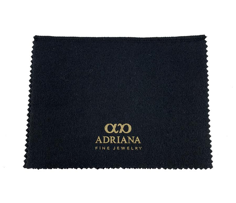 How to clean your jewelry with the Adriana Fine Jewelry cloth?