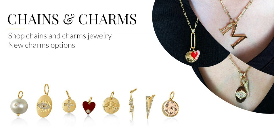 Chains and Charms 14K Gold