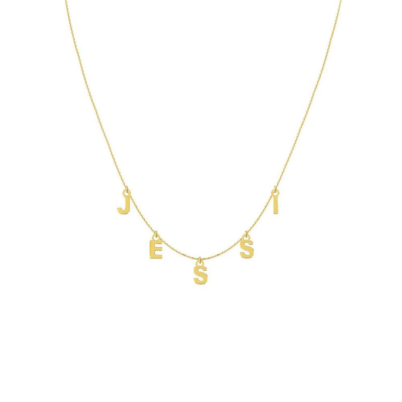 This is Me Necklace 14K Gold