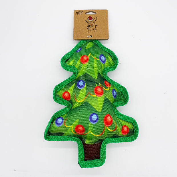 Durable Christmas Tree Squeak Toy