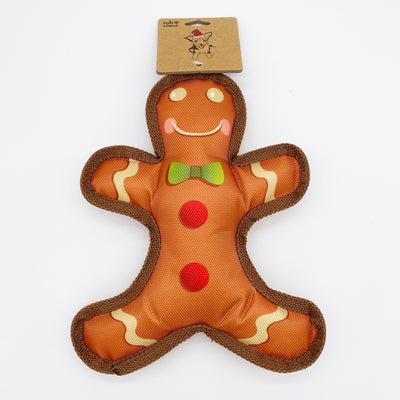 Durable Gingerbread Squeak Toy