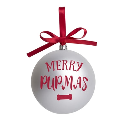 Merry Pupmas Christmas Ornament