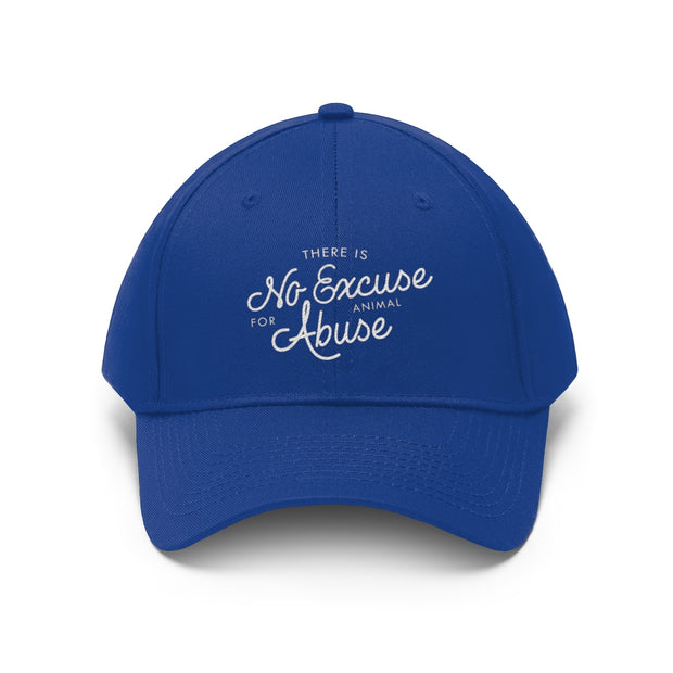 There's No Excuse for Animal Abuse Adjustable Hat - 5 Colors