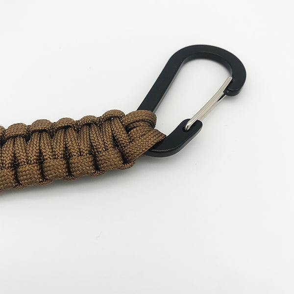 Deep Brown Paracord Key Chain