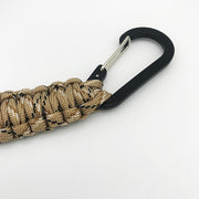 Desert Camo Paracord Key Chain