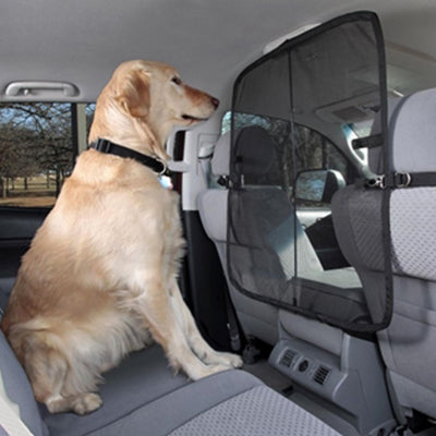 Front Seat Pet Safety Net Barrier for the Car