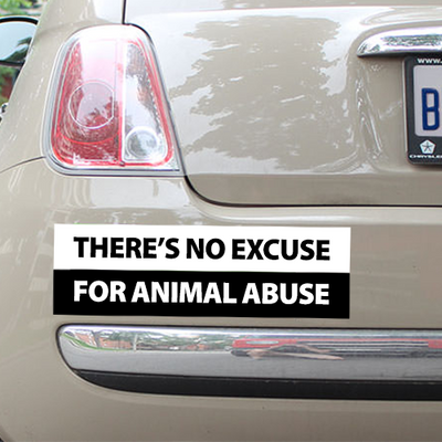 There's No Excuse Bumper Sticker