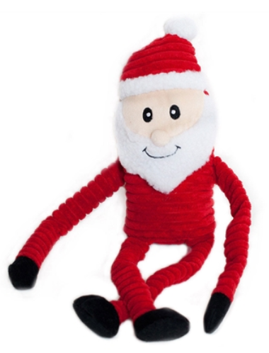 Santa Crinkles Holiday Squeak Toy