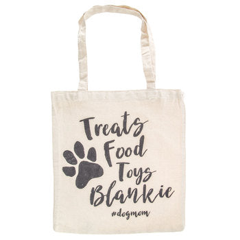 Treats Food Toys Blankie Tote Bag