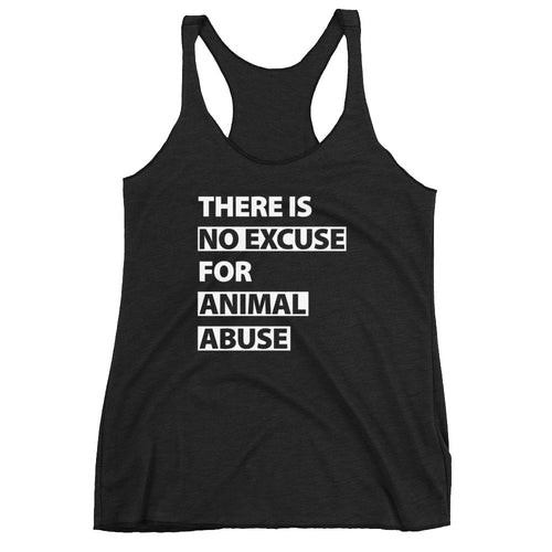 There's No Excuse Women's Racerback Tank - 5 Colors
