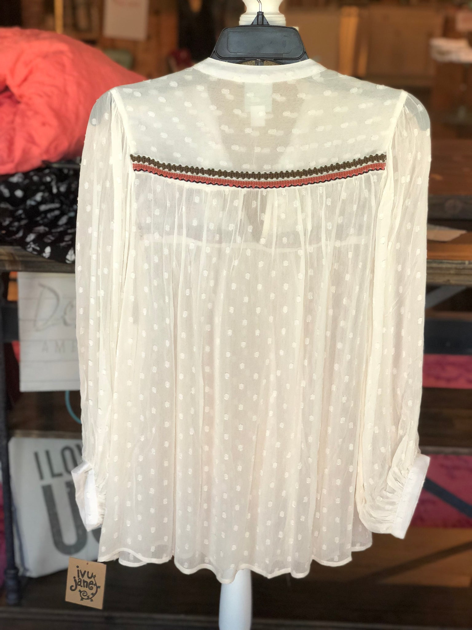 Ivy Jane Mirrored Blouse