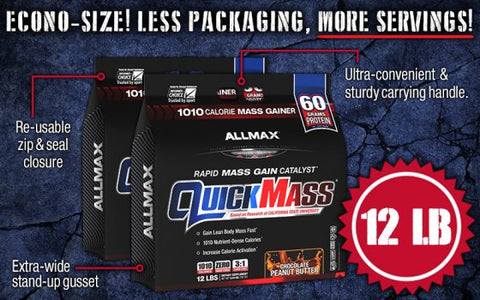 Image result for allmax quickmass