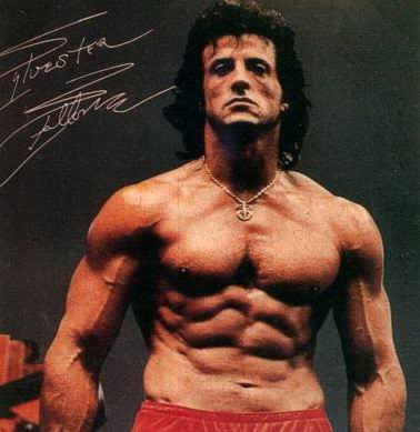 sylvester stallone rock hard body