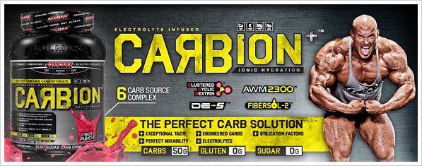AllMax Nutrition: Carbion Double Deal