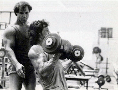 sly sylvester stallone arm workout