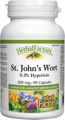 Natural Factors  Natural Factors St. John's Wort Extract (90 caps)