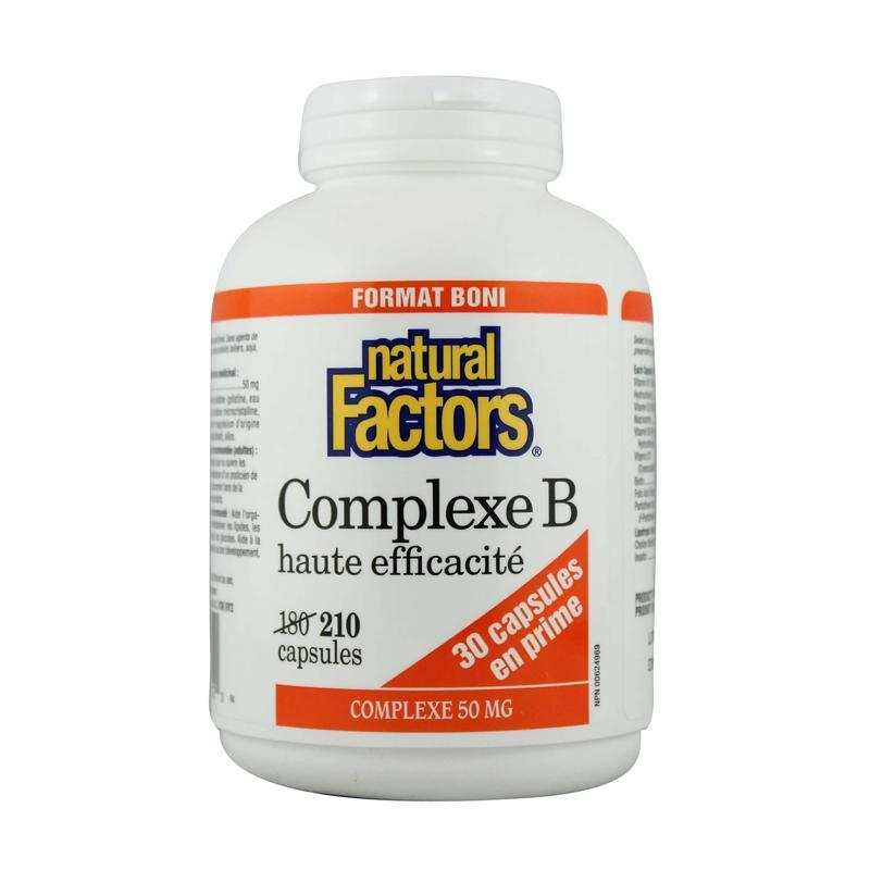 Natural Factors  Natural Factors Hi Potency B Complex (210 caps)