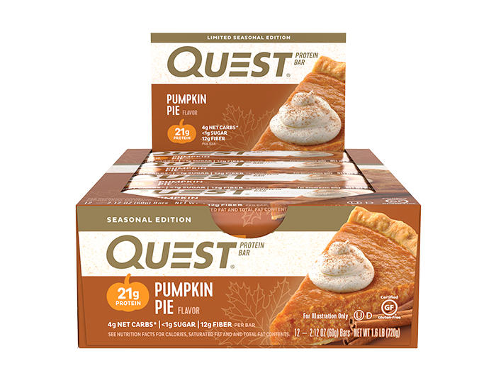Quest Nutrition  Quest Nutrition Bar - Pumpkin Pie (12 Bars)