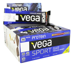 Vega Sport Natural Plant-Based Protein Bar (Box of 12)