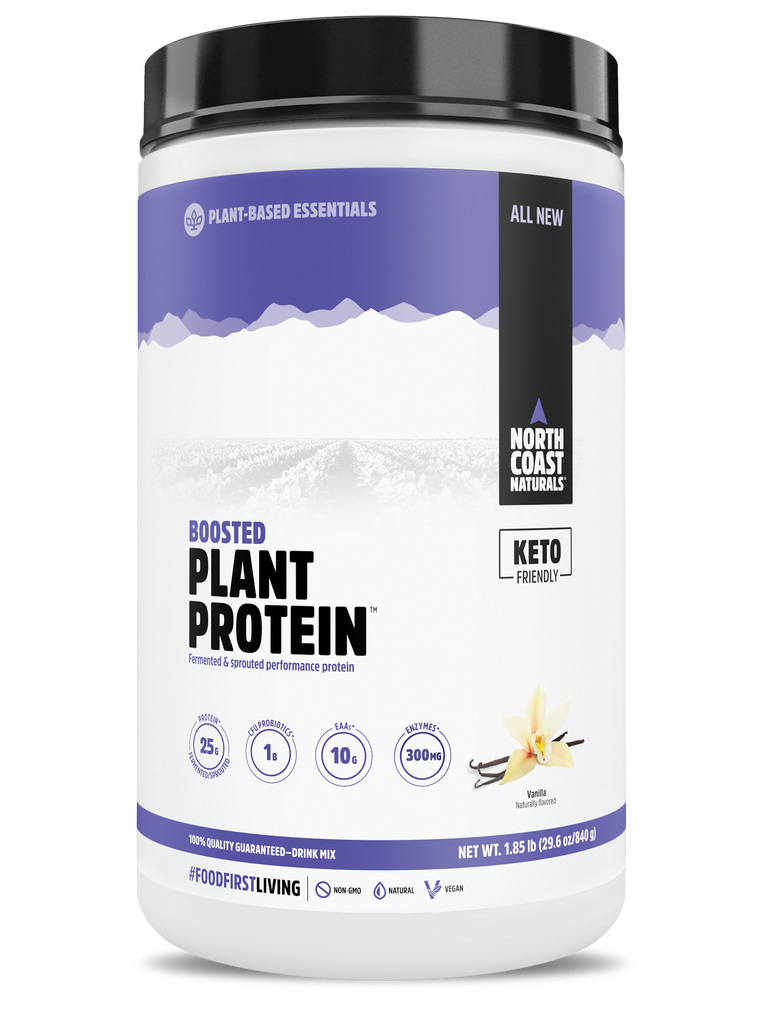 North Coast Naturals  BOOSTED PLANT PROTEIN 1.85 lbs