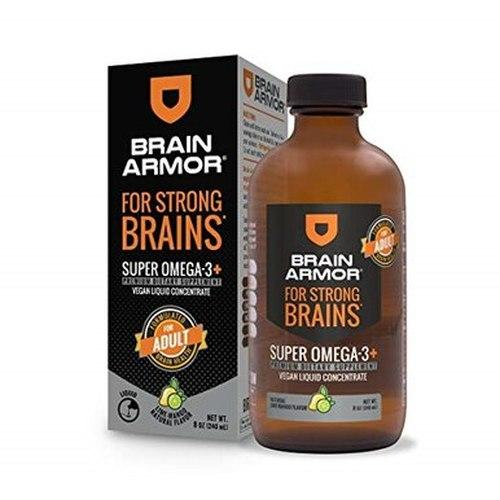 Brain Armor  Brain Armor Adult Super Omega-3+ Vegan Liquid Concentrate (240mL)