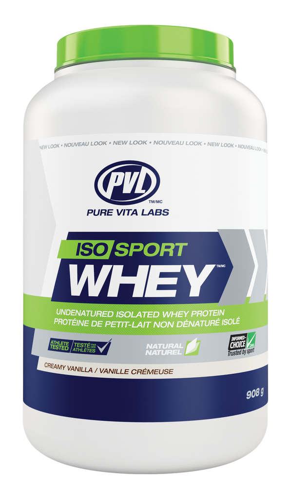 PVL PVL 100% Natural Iso Sport Whey (908g)