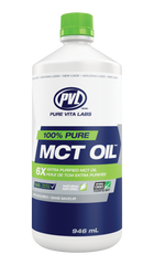 Pure Vita Labs 100% Pure MCT Oil (1000 ml)