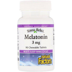 Natural Factors Melatonin 3 mg (90 tabs)