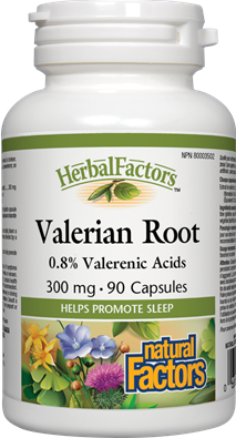 Natural Factors  Natural Factors Valerian Root Extract (90 caps)