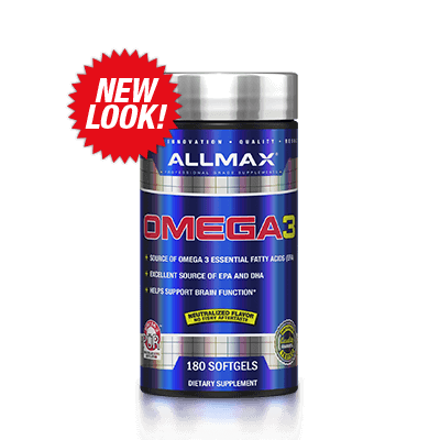 Allmax Nutrition Omega & Essential Fatty Acids Allmax Omega 3 (180 softgels)