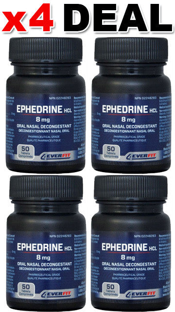 4EVER FIT 4Ever Fit Ephedrine (4 Bottles)