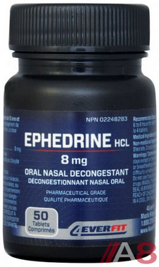 4EVER FIT  Ephedrine (50 tablets)