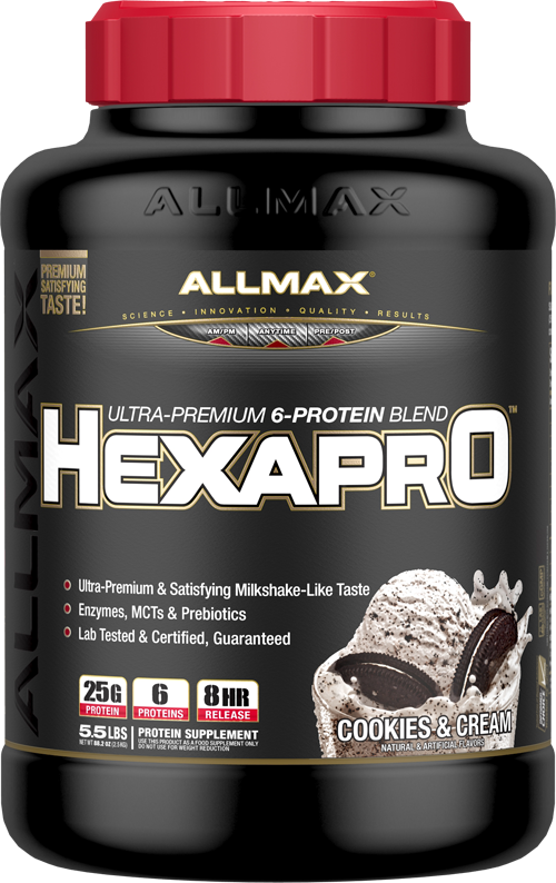 Allmax Nutrition Meal Replacement Powders Allmax Nutrition: Hexapro (5.5 lbs)