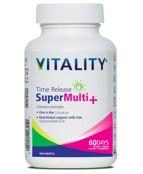 Vitality  Time Release Super Multi+ (60 tabs)