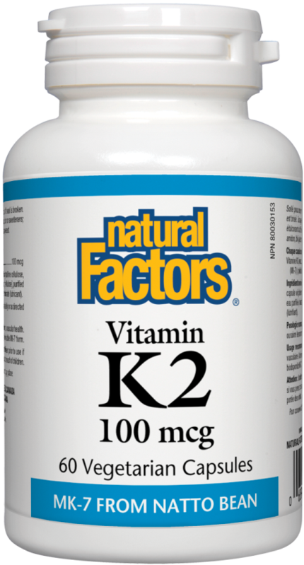 Natural Factors  Natural Factors Vitamin K2 (60 caps)