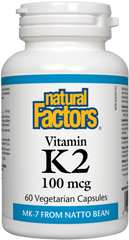 Natural Factors Vitamin K2 (60 caps)