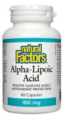 Natural Factors Alpha Lipoic Acid 400 mg (60 caps)