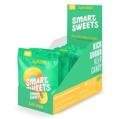 SmartSweets Peach Rings Box of 12