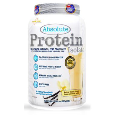 interACTIVE  InterACTIVE: Absolute New Zealand Whey Isolate (2lbs)