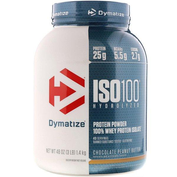 Dymatize Nutrition Hydrolyzed Whey Dymatize Nutrition ISO-100 (5 lbs)