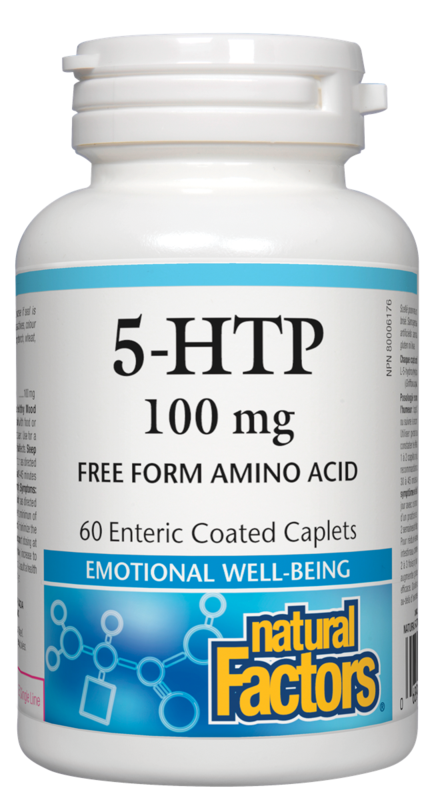 Natural Factors  Natural Factors 5-HTP - 5-Hydroxytryptophan (60 caps)
