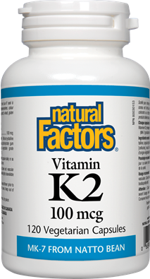 Natural Factors  Natural Factors Vitamin K2 (120 caps)