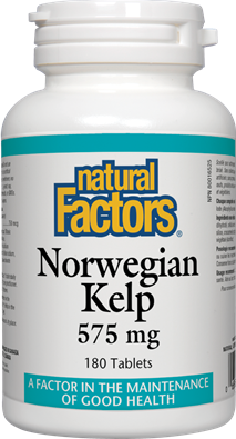 Natural Factors  Natural Factors Norwegian Kelp 575 mg (180 tabs)