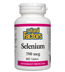 Natural Factors Selenium 200 mcg (90 tabs)