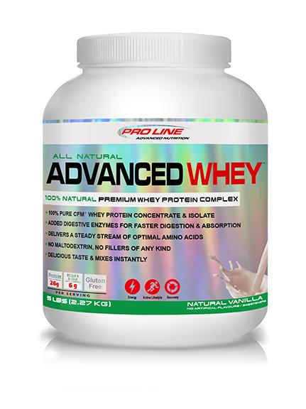 Proline Advanced Nutrition  ALL NATURAL ADVANCED WHEY (5LB)