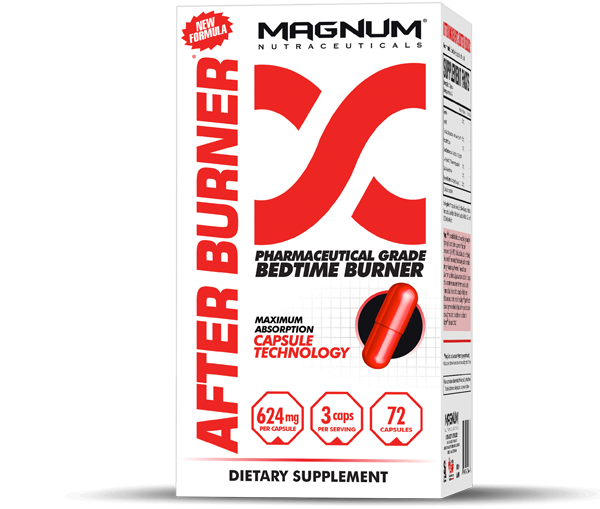 Magnum Nutraceuticals  Magnum: After Burner (72 caps)