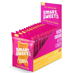 SmartSweets Fruity Gummy Bears Box of 12