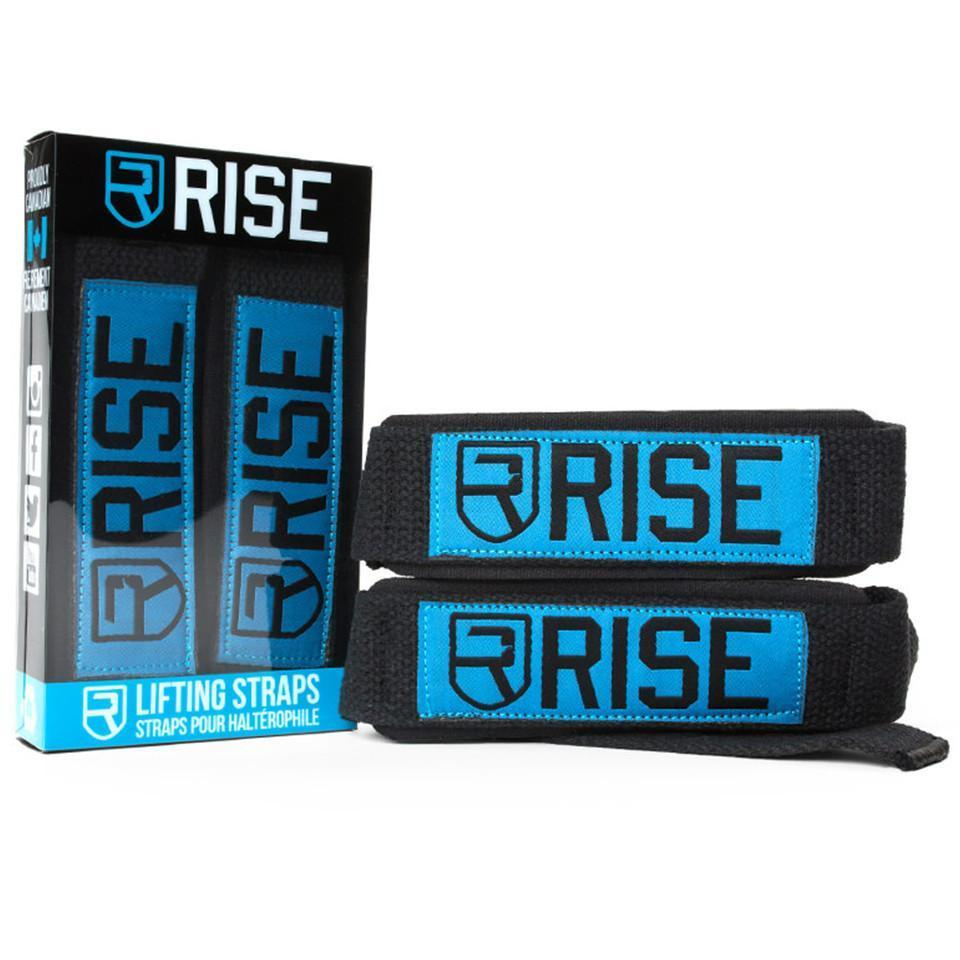 rise  LIFTING STRAPS – BLUE