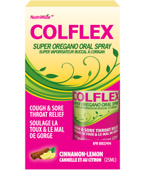 COLFLEX Oregano, Thyme, Vitamin D3 Oral Spray (25 ml)